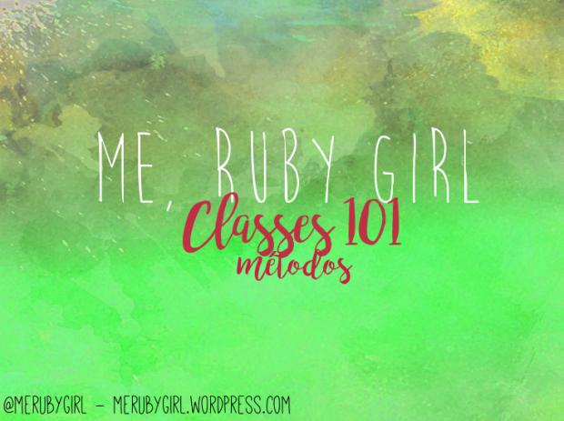 classe101metods